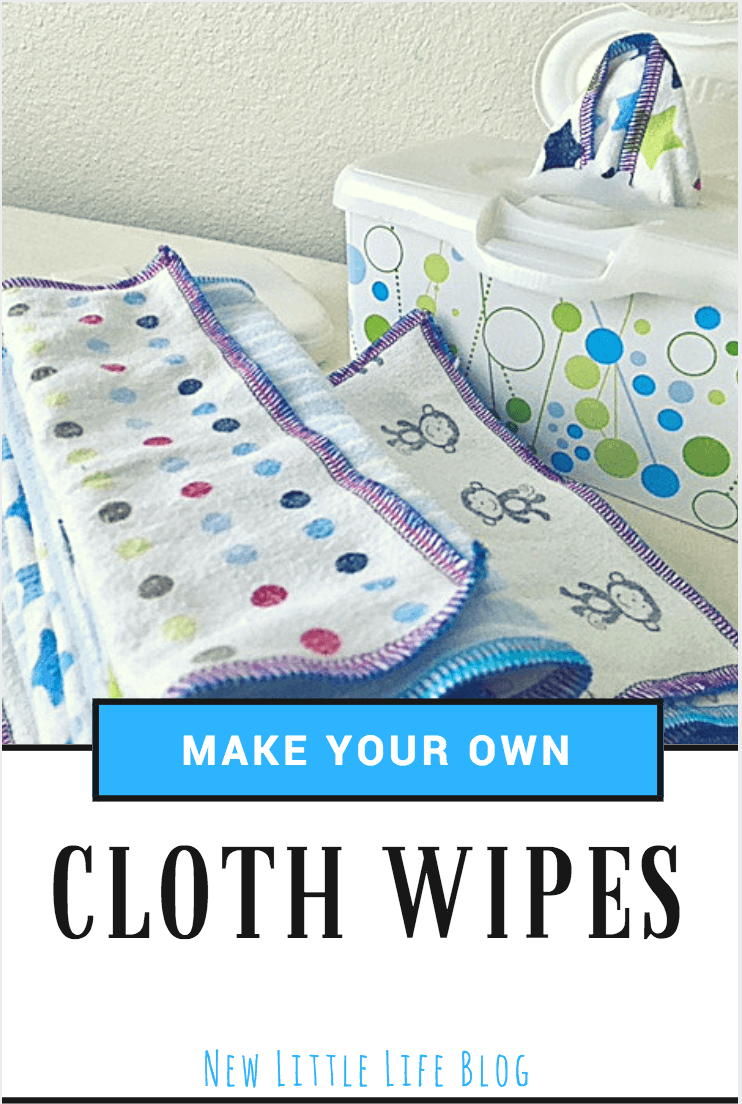 Serging Cloth Wipes - Time Lapse Video Tutorial