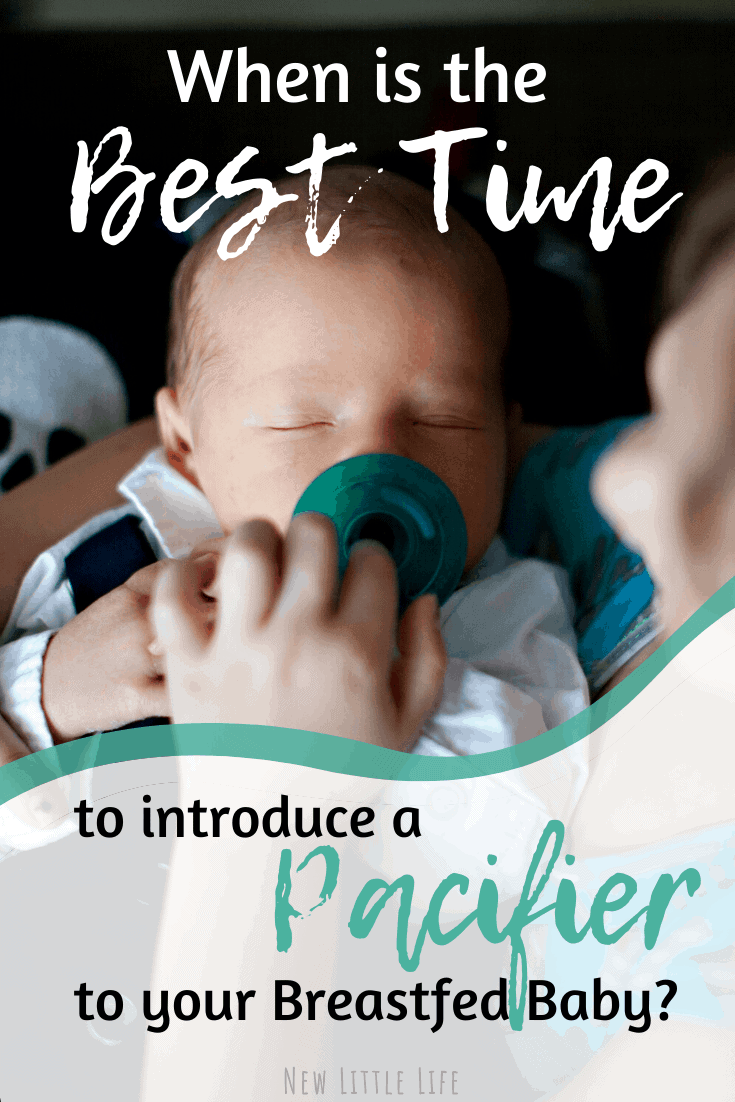 When is it safe to give your breastfed baby a pacifier?