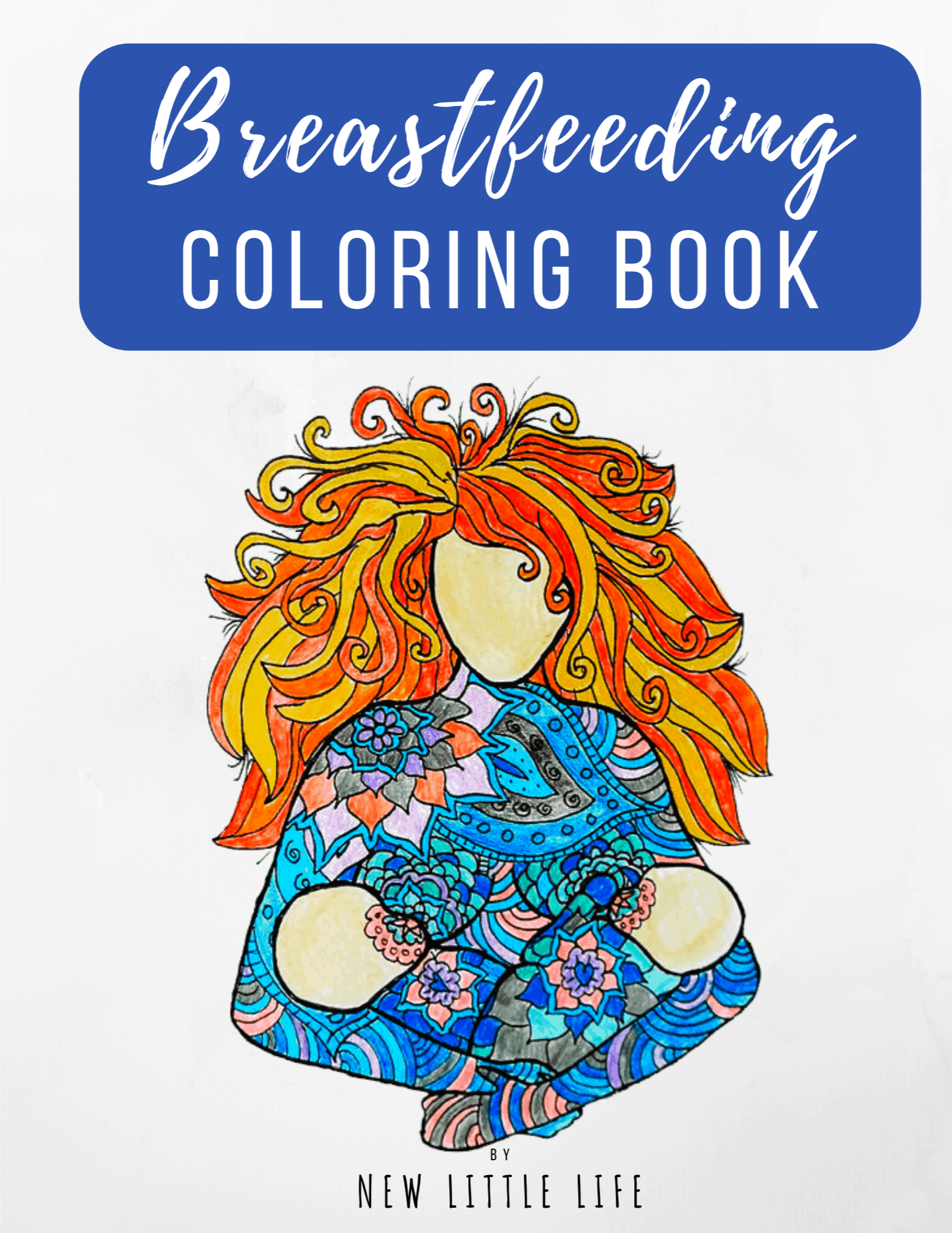 Breastfeeding Coloring Boo